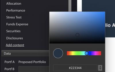 PDF Custom Colors